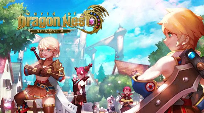World of Dragon Nest VN mở fanpage và trang chủ chính thức