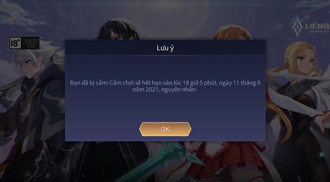 Liên Quân Mobile: Hơn 5900 tài khoản đã bị khóa – Garena sẽ không dung túng cho phá game!!!