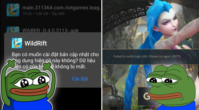 """Game thủ đua nhau tải về LMHT Tốc Chiến để rồi nhận cái """"kết đắng"""""""