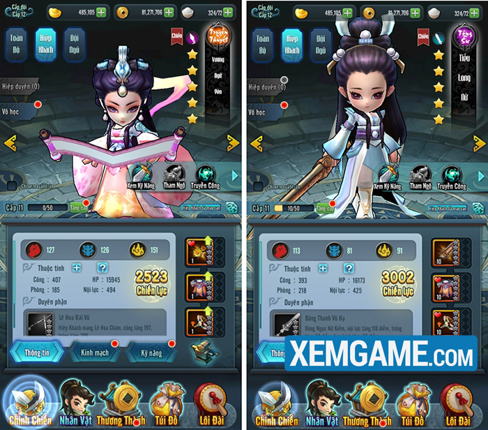 Luận Kiếm Mobile | XEMGAME.COM