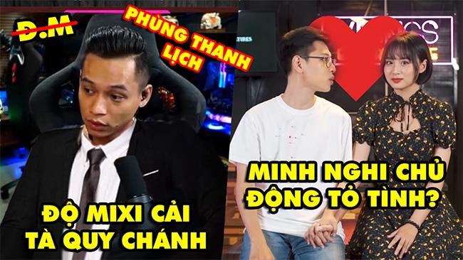 Stream Biz #7: Độ Mixi cải tà quy chánh 'Phùng Thanh Lịch', Bomman và Minh Nghi hé lộ lý do yêu nhau