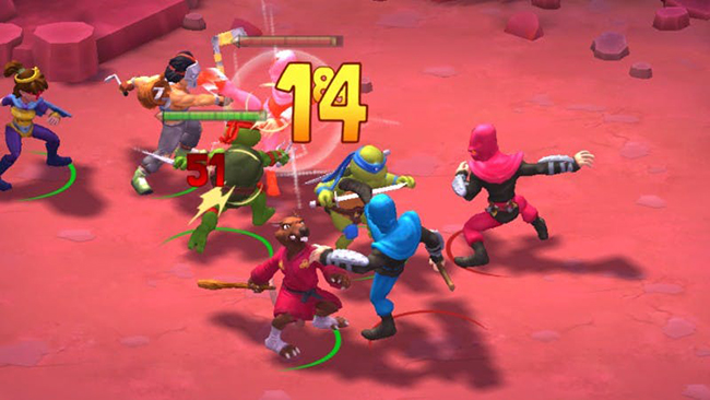 TMNT: Mutant Madness – game Ninja Rùa theo kiểu  thẻ tướng để giải trí