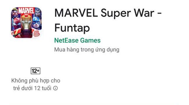MARVEL Super War mở đăng ký trước, sẽ do Funtap phát hành ở VN