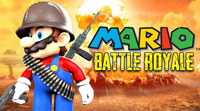 Tựa game huyền thoại Mario ra mắt phiên bản Battle Royale