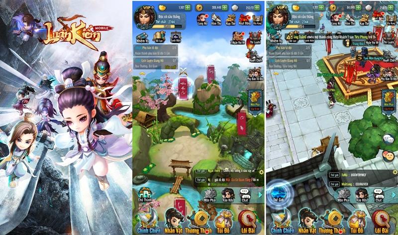 Luận Kiếm Mobile bùng nổ ngày ra mắt với 10.000 người chơi cùng lúc
