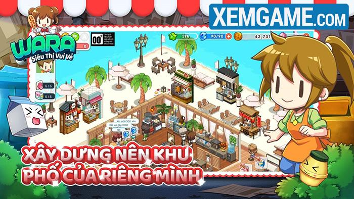 WARA – Siêu Thị Vui Vẻ là tựa game mobile casual với hình ảnh bắt mắt Wara-2