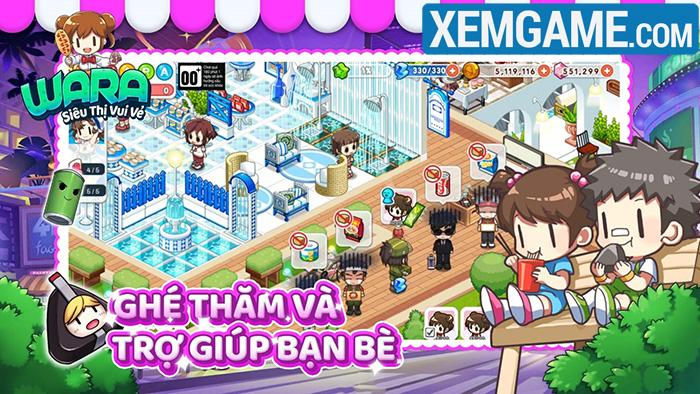 WARA – Siêu Thị Vui Vẻ là tựa game mobile casual với hình ảnh bắt mắt Wara-3