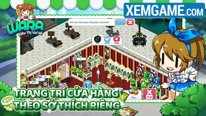 WARA – Siêu Thị Vui Vẻ là tựa game mobile casual với hình ảnh bắt mắt Wara-4