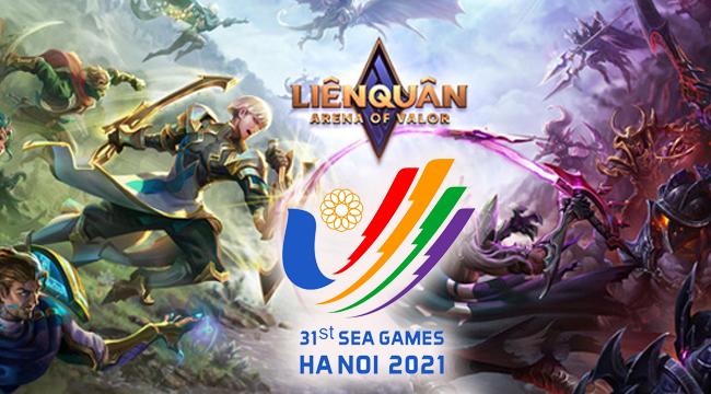 Liên Quân Mobile chính thức được đưa vào thi đấu tại SEA Games 31