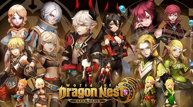 Cận cảnh World of Dragon Nest: xứng đáng siêu phẩm đáng mong chờ dịp cuối năm