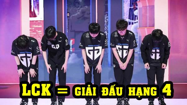 LMHT: Gen.G bị netizen Hàn ném đá dữ dội sau trận thua G2