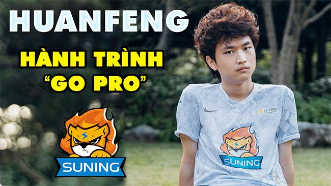 """Câu chuyện về Suning Huanfeng: Hành trình """"Go Pro"""" ở tiệm net của Xạ Thủ Cô Độc nhất LMHT"""