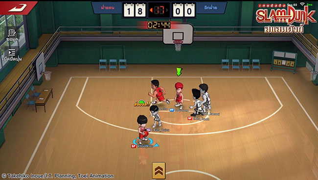 SLAM DUNK – game mobile bóng rổ 3v3 dựa trên bộ truyện nổi tiếng