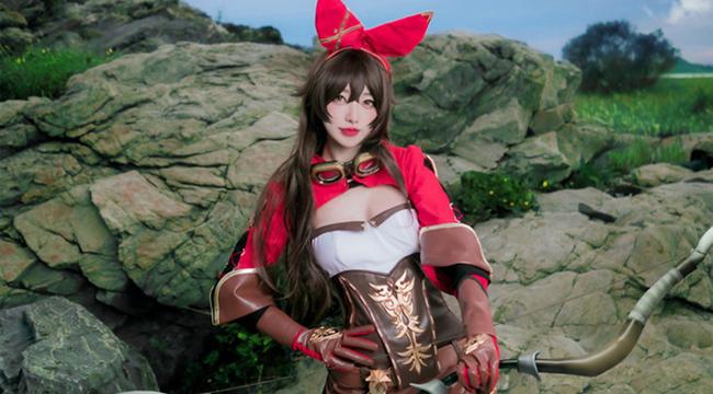 Genshin Impact: Mê mẩn với cosplay Amber đầy đáng yêu