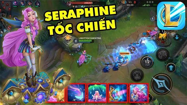 Trải nghiệm tướng mới Seraphine ảo diệu trong Liên Minh Tốc Chiến