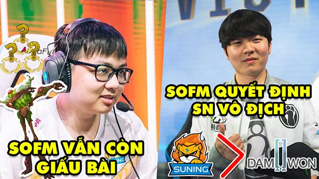 SofM 24h: Vẫn giấu bài, thậm chí cả Ivern chung kết – Rookie cho rằng SofM quyết định Suning vô địch
