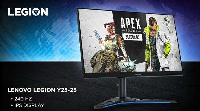 Lenovo ra mắt bộ ba màn hình chuyên dụng dành riêng cho game thủ