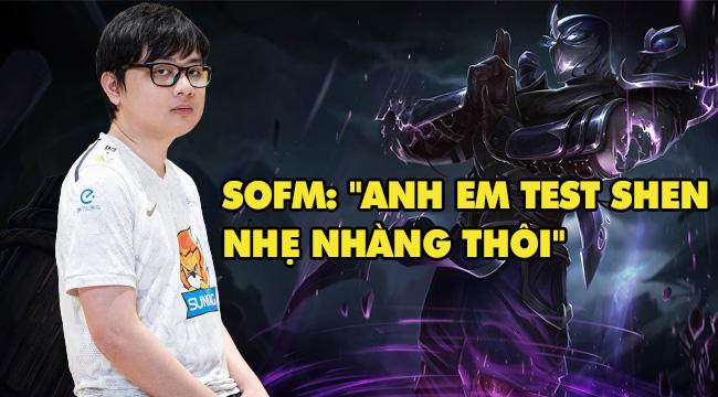 """LMHT: SofM lo lắng vì game thủ Việt Nam test """"Shen Đi Rừng"""" quá nhiều"""