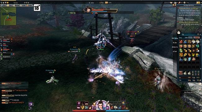 Tiếu Ngạo Giang Hồ có những tính năng nổi bật khiến người chơi mê mẩn