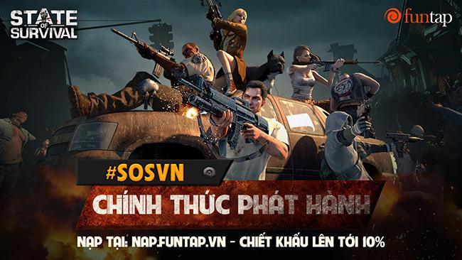 State of Survival: Game mobile chiến lược sinh tồn ngày tận thế số 1 thế giới đã xuất hiện tại Việt Nam