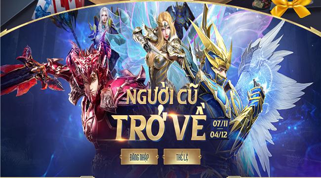 MU Awaken VNG có chuỗi sự kiện ingame tưng bừng quà tặng mừng phiên bản mới