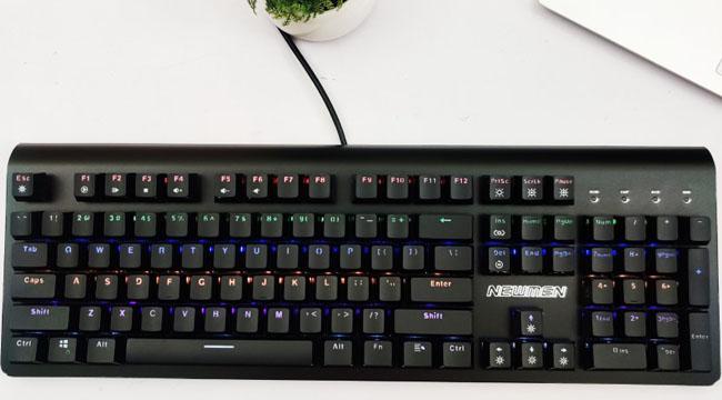 Bàn phím Newmen GM510 – bàn phím chống nước, chiến game thả ga