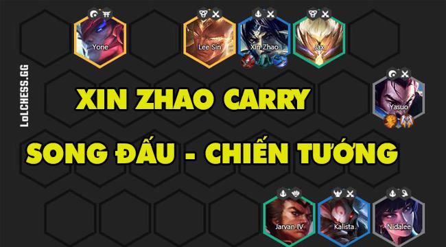 DTCL mùa 4: Hướng dẫn đội hình Xin Zhao carry phiên bản 10.23