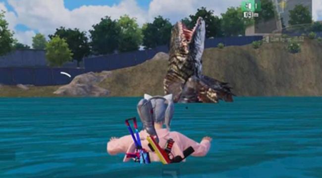 PUBG Mobile: Sự kiện săn thuỷ quái khiến game thủ phấn khích vì sự kinh dị