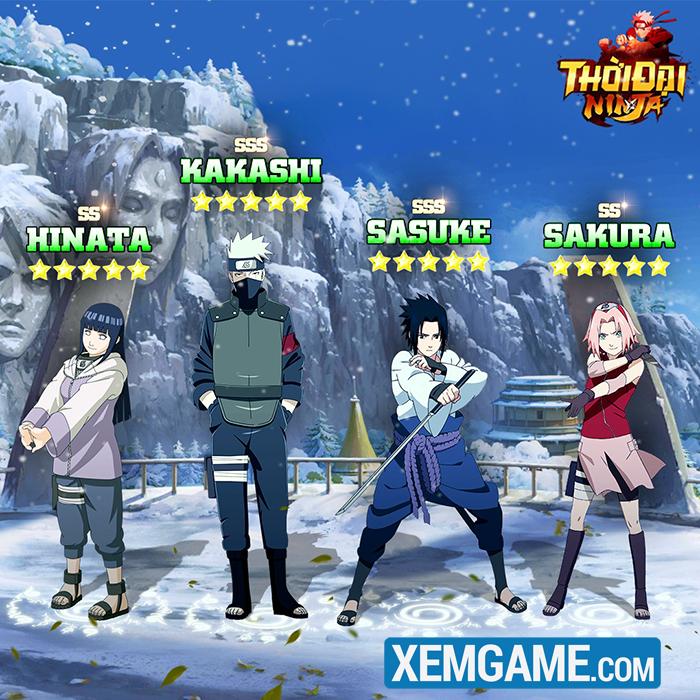 Thời Đại Ninja - sự cách tân cho thế giới ninja nhờ lối chơi màn hình dọc