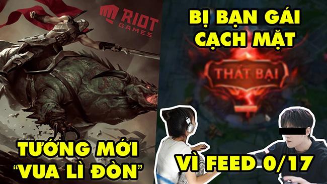 """Update LMHT: Riot hé lộ tướng mới Rell """"Vua Lì Đòn"""" – Game thủ Feed 0/17 bị bạn gái cạch mặt"""