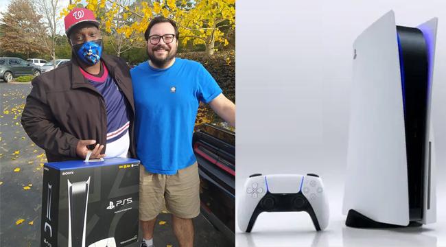 Thấy chiến hữu buồn bã vì PS5 cháy hàng, game thủ bí mật đặt mua cả cặp để tặng