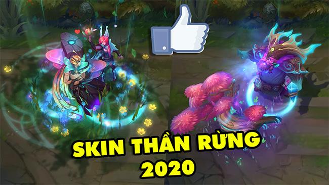 Đẹp lung linh với trang phục Thần Rừng 2020 – Xayah và Rakan có skin đôi, Ornn thoát kiếp con ghẻ