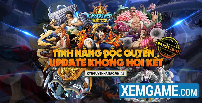 Kỷ Nguyên Hải Tặc - siêu phẩm webgame One Piece chính thức ra mắt 25/11