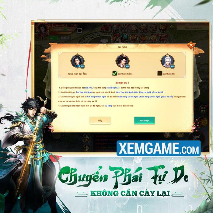 Phong Vân Chí VTC - Game cày cuốc rớt đồ vô tư lự ra mắt Việt Nam
