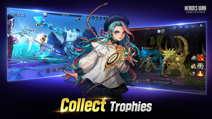 Heroes War: Counterattack - game đậm tính chiến thuật ra mắt chính thức