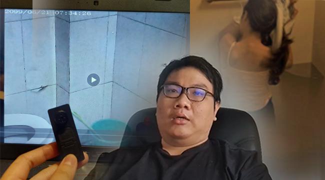 Leader 2D Artist Việt đặt máy quay lén trong toilet nữ lộ tin nhắn hù doạ nạn nhân