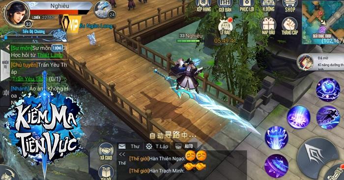 Kiếm Ma Tiên Vực mobile - thêm một game kiếm hiệp tu tiên nữa sắp cập bến