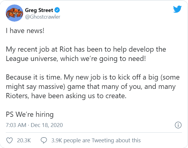 Riot Games chính thức xác nhận đang phát triển MMORPG của LMHT