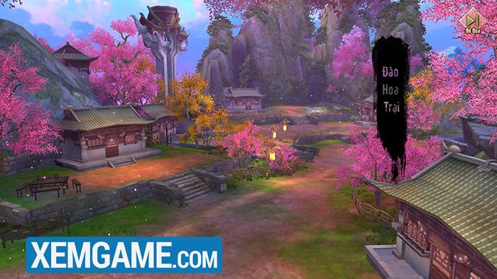 Cộng đồng mê mẩn với Đào Hoa Đảo trong phiên bản mới của Tân Thiên Long Mobile