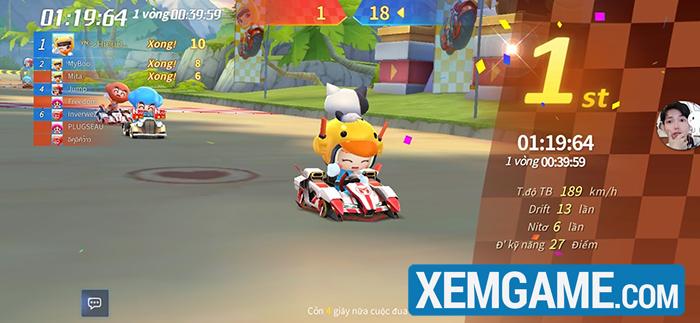 KartRider Rush vượt mặt nhiều đối thủ và đứng top tải về Appstore