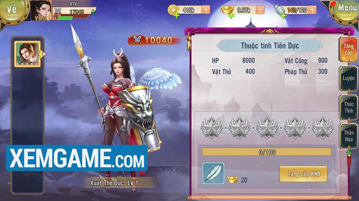 Trải nghiệm Mỹ Nữ Truyện mobile - game thẻ tướng nhiều mỹ nhân thu hút mọi ánh nhìn