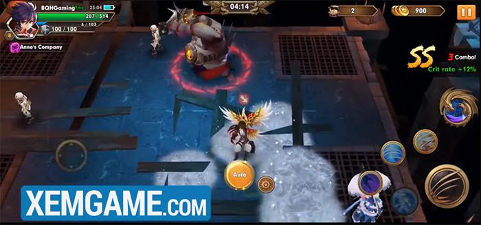 Knight of Wind - game chặt chém với đồ họa dễ thương vô cùng