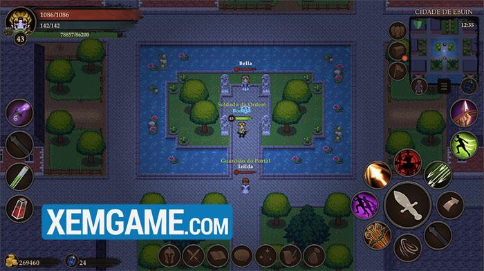Eternal Quest Online - MMORPG 2D top down đa nền tảng độc lạ