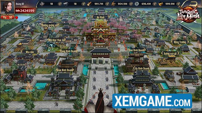 Tam Quốc Liên Minh SohaGame | XEMGAME.COM