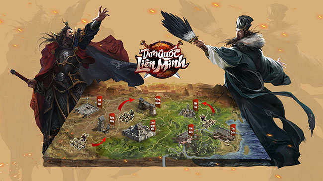 Tam Quốc Liên Minh SohaGame lộ diện gameplay chiến thuật thu hút