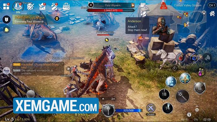 Bless Mobile dự án game mobile gây sốt ở Hàn Quốc chuẩn bị có bản quốc tế