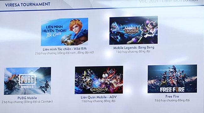 Việt Nam khởi động giải Esports quốc gia thường niên với 10 tựa game quen mặt