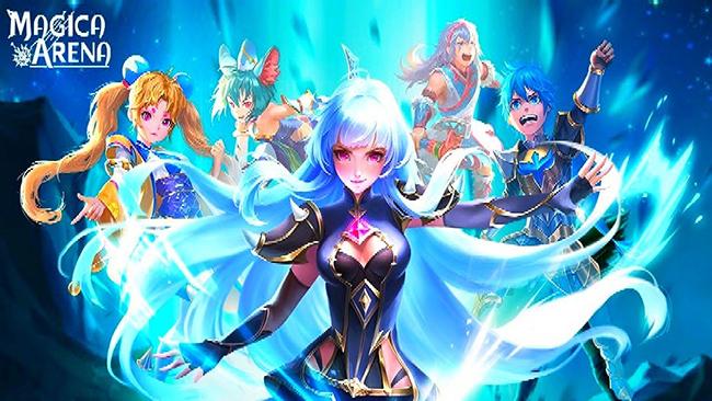 Magica Arena – game đấu thẻ bài với đồ họa anime độc đáo