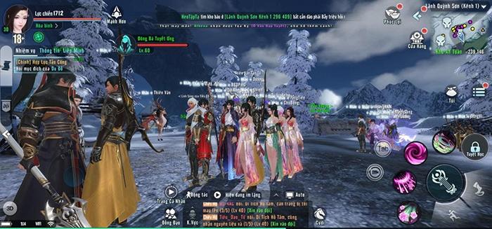 Xứng danh siêu phẩm đầu năm, từng đoàn người tấp nập vào trải nghiệm Tuyết Ưng VNG!!!