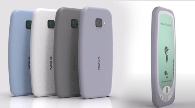 Mãn nhãn với concept Nokia 3310 2021 tích hợp cảm biến vân tay cực xịn sò